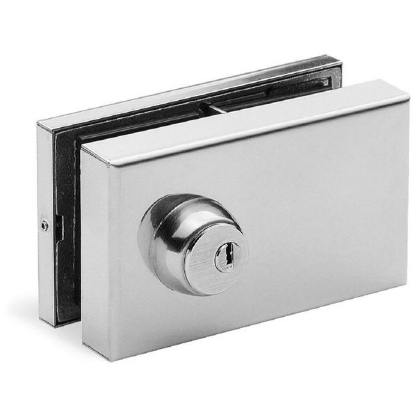 CERRADURA DOBLE HOJA INOX BRILLO